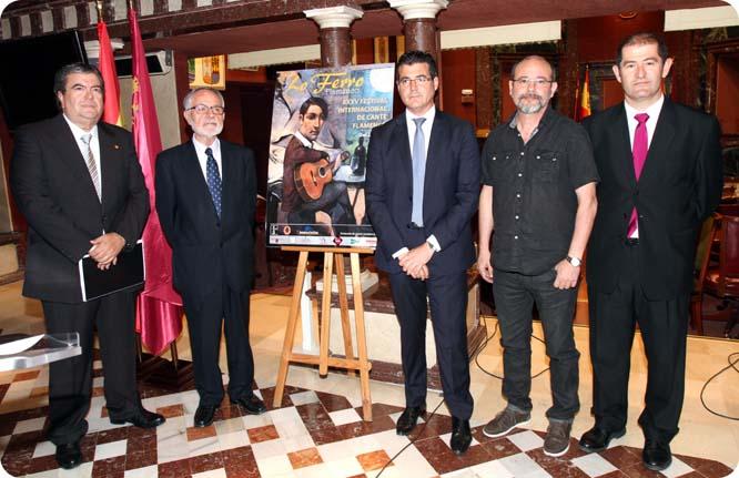 La Asamblea Regional acoge la presentación del XXXV Festival de Cante Flamenco de Lo Ferro